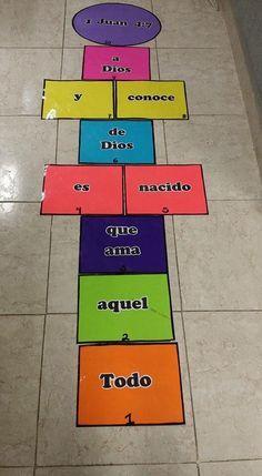 Juego Biblico Escuelita Biblica Escuela Dominical Juegos