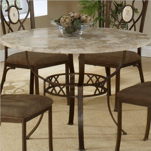 Hillsdale Brookside Round Dining Table 45 Inch Diameter By 25mm