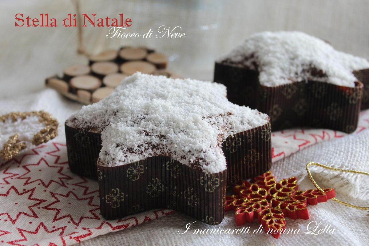 Photo of Stella di Natale fiocco di neve, panettone, pandoro, torta, desse
