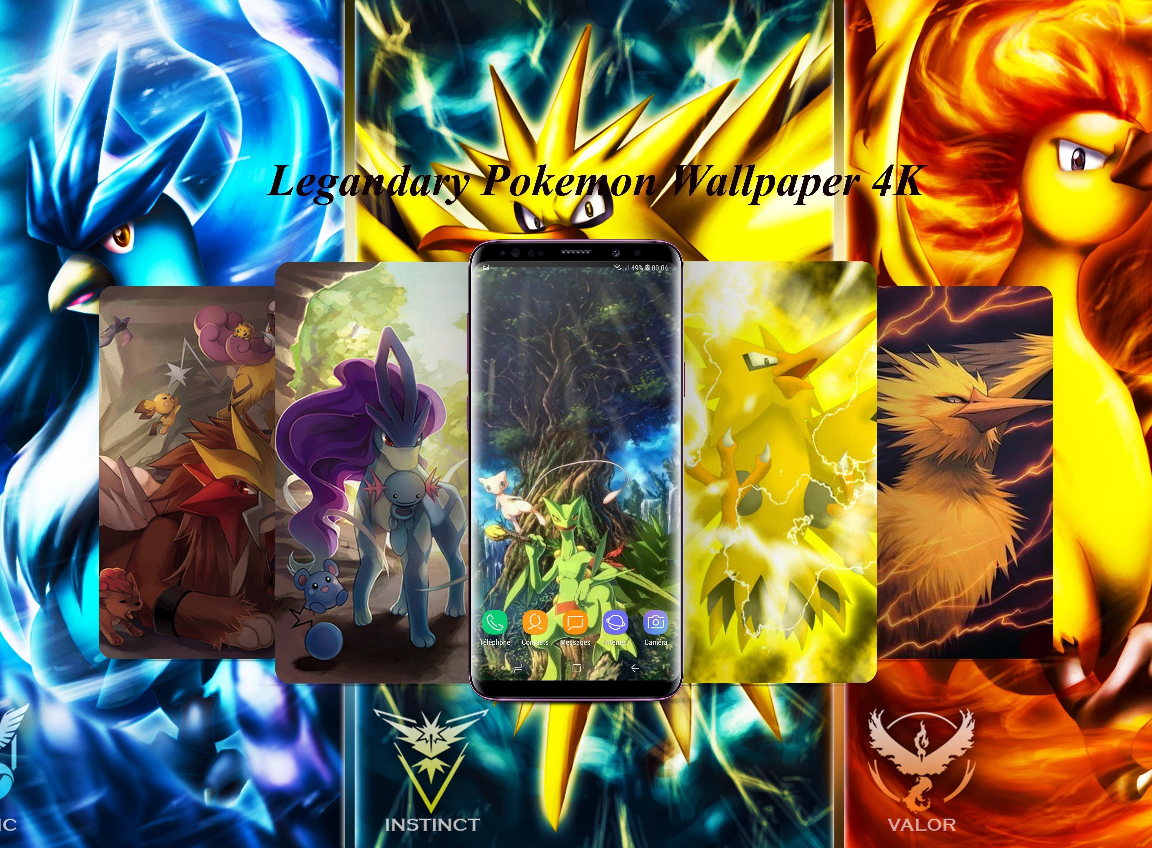 Legendary Pokemon Wallpaper Android