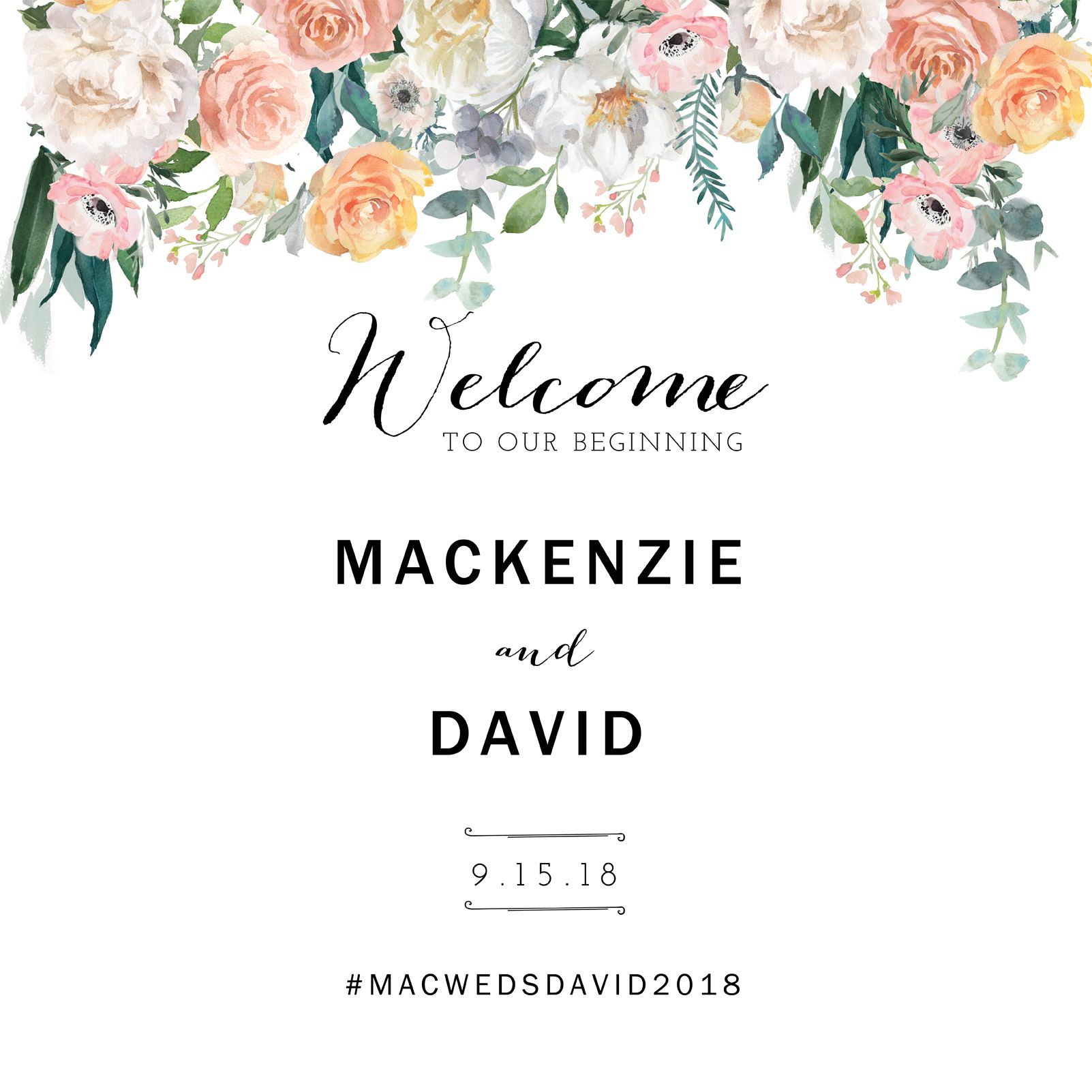 wedding welcome sign template printable wedding welcome sign diy