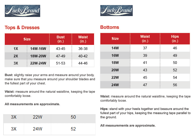Michael Michael Kors Plus Size Chart Via Macys Brand Name Plus