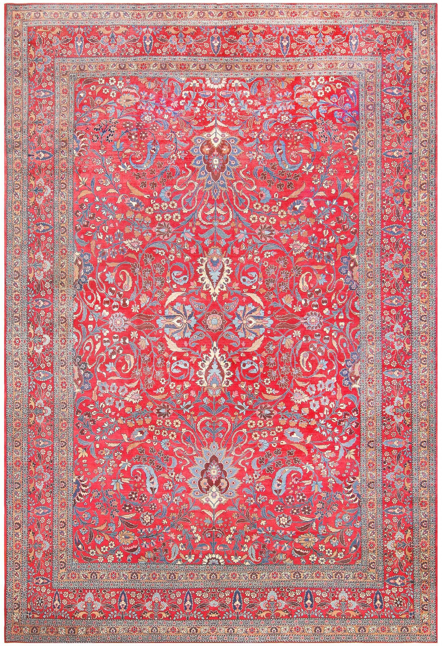Antique Persian Khoran Carpet 48298