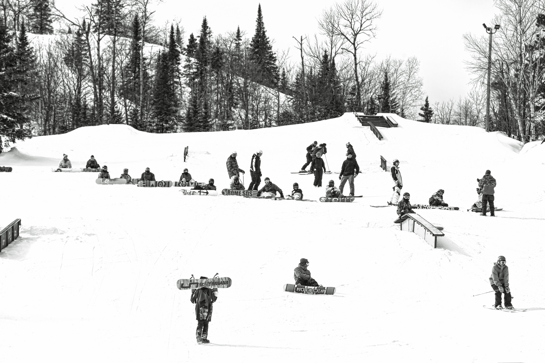 Busy Slopes At Giants Ridge Credit Bill Butkovich Giantsridge Onlyinmn Measbiismagic Winterfun Family Vacation Destinations Ski Trails Downhill Skiing