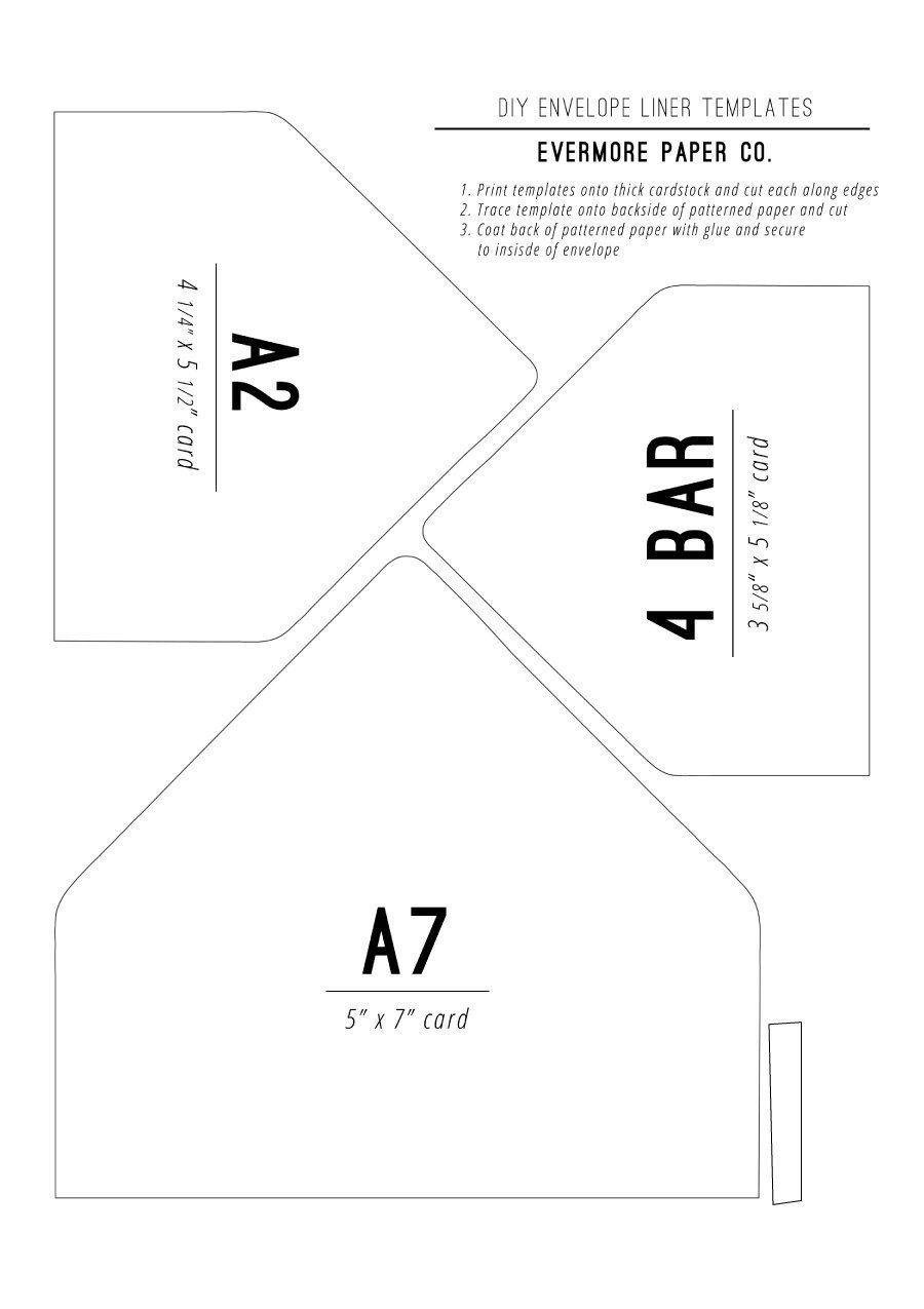 Printable Envelope Template Pdf 40 Free Envelope Templates Word Pdf Template Lab Envelope Template Envelope Liner Template Envelope Design Template