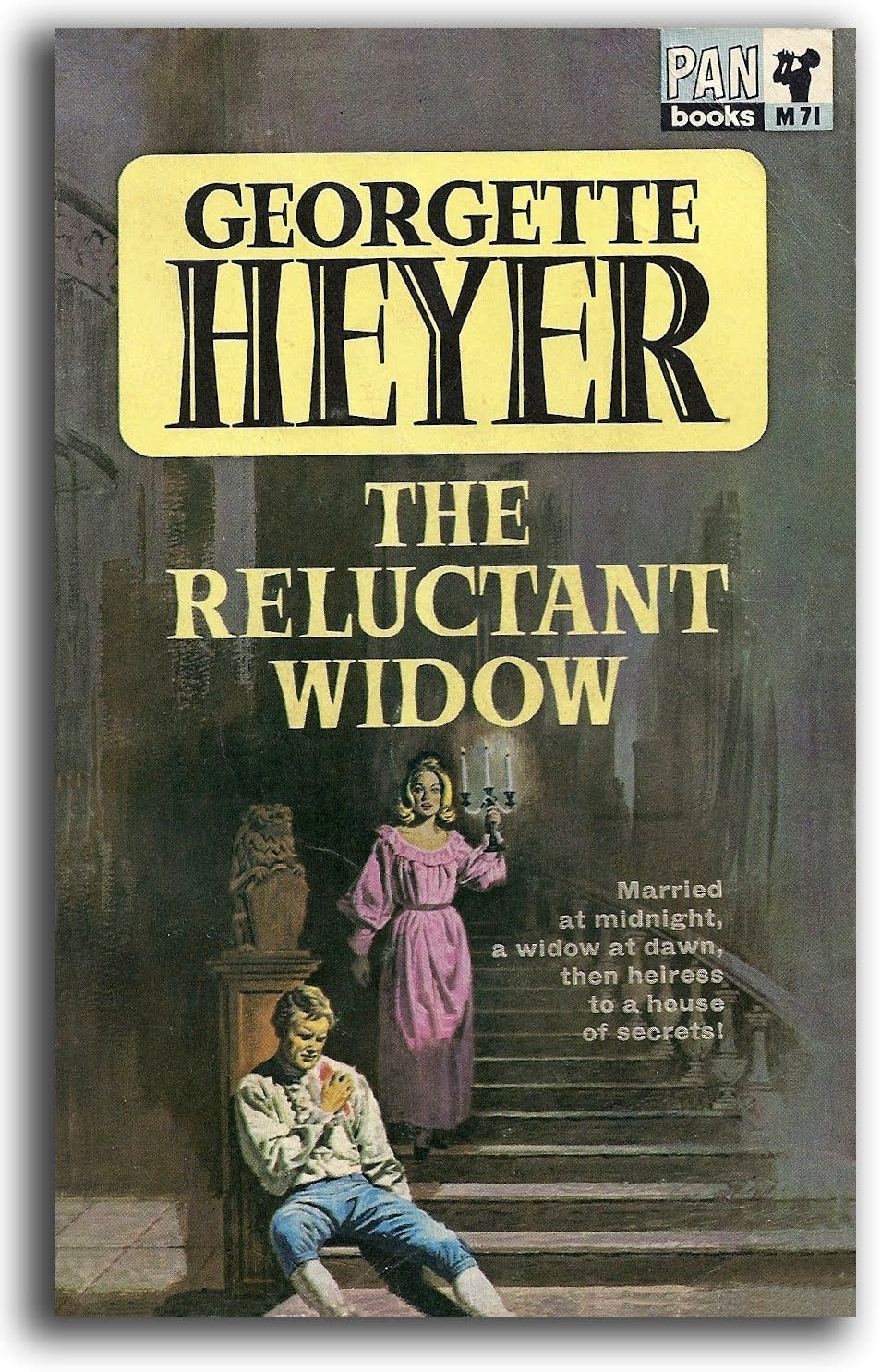 The Reluctant Widow | Georgette heyer books, Georgette heyer ...