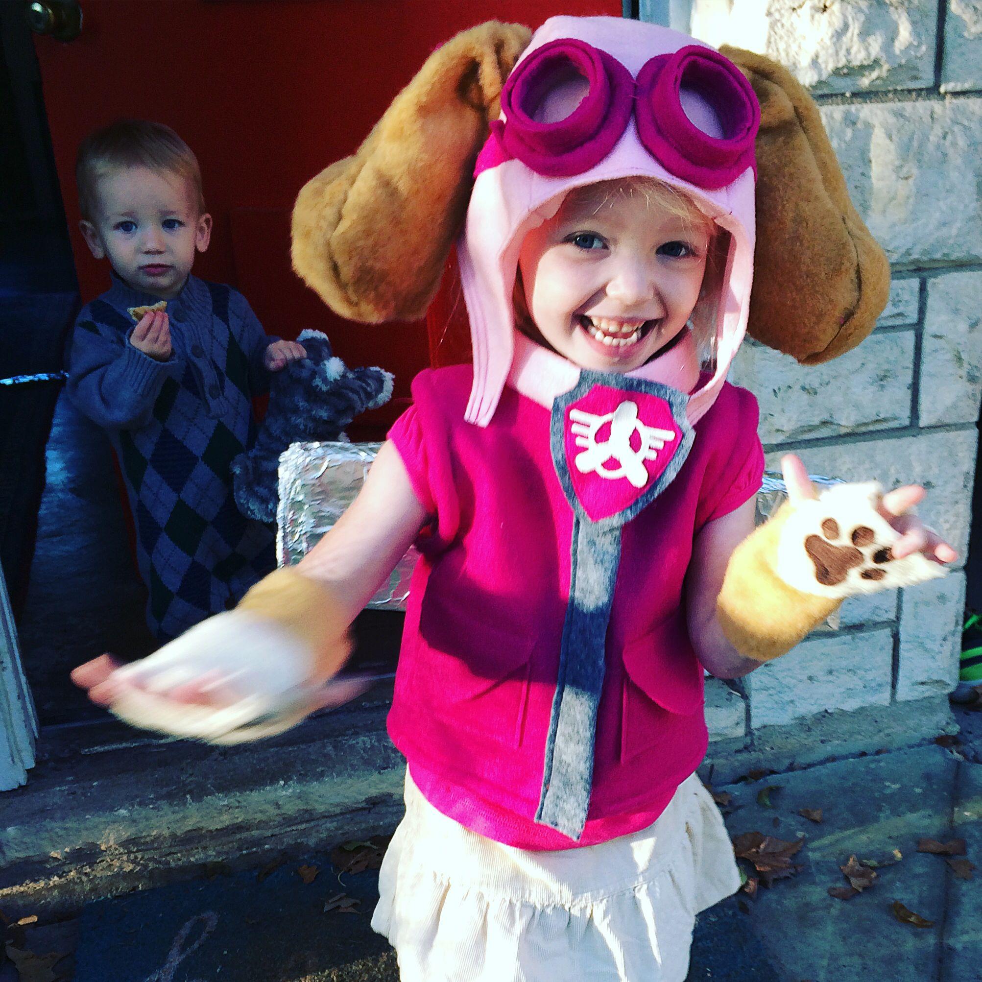 Skye Paw Patrol Costume DIY felt … … | juegos | Pinterest | Patrulla ...