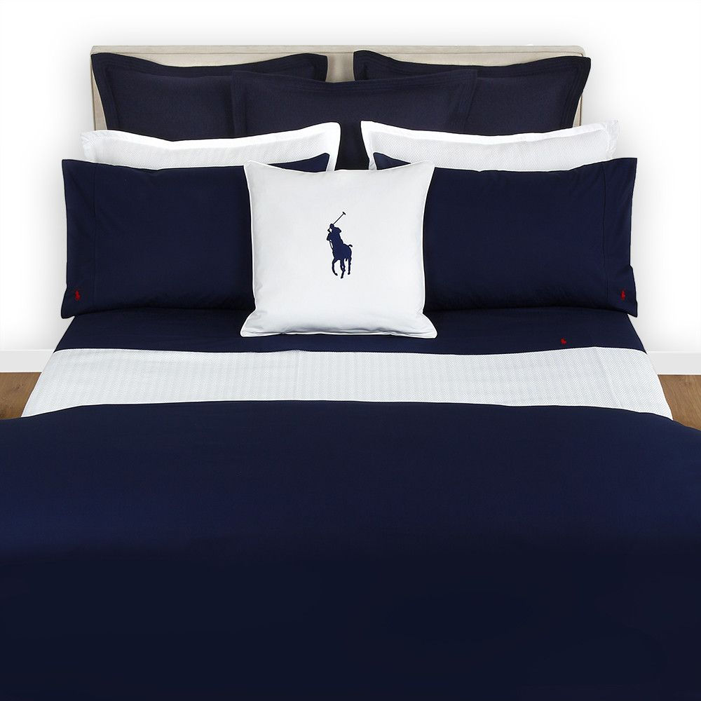 Polo Player Duvet Cover Navy Double Duvet Polos And