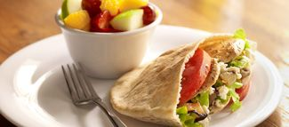 Zoes Kitchen Greek Chicken Pita zoe's kitchen - love the mediterranean tuna pita, egg salad