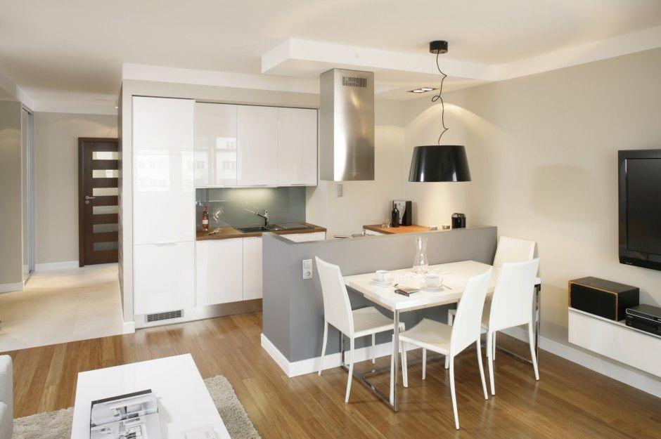Szafki Wiszace Nad Blatem 15 Najciekawszych Projektow Zdjecie Numer 1 Kitchen Inspirations Home Interior Design Small Kitchen
