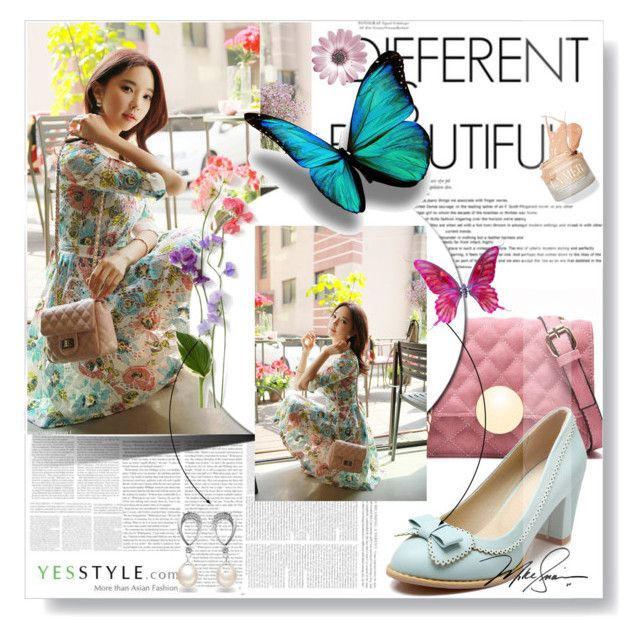 """Spring Yesstyle"" by dreamer55s ❤ liked on Polyvore featuring Styleonme, Secret Garden and Belec"