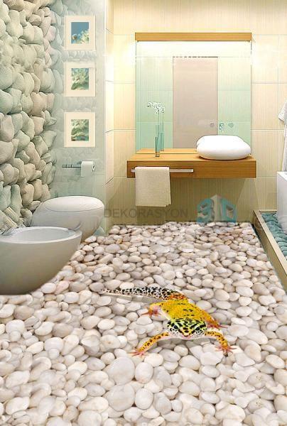 3d Floor Bodenbelag Fur Badezimmer 3d Fussboden Boden