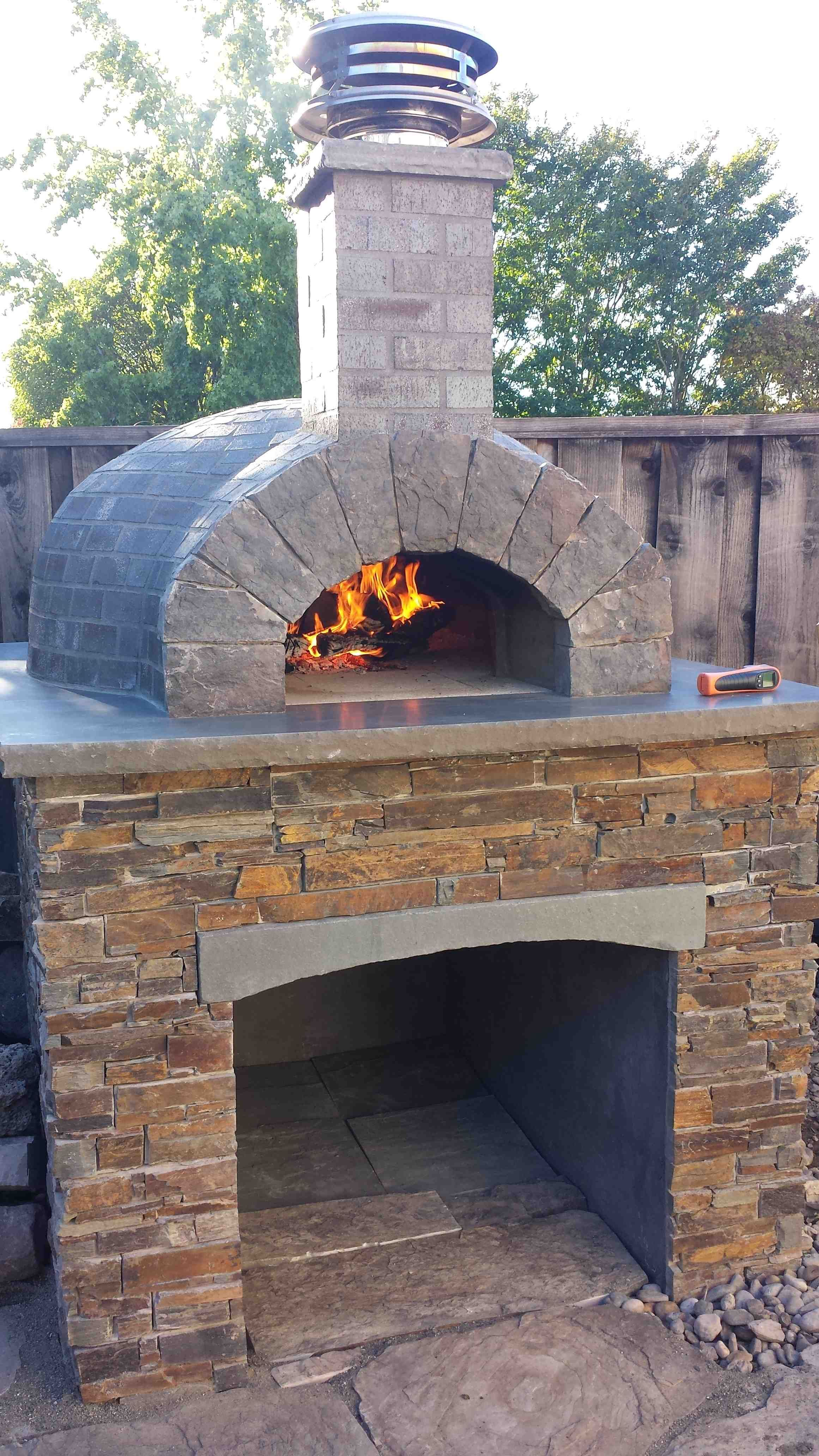 Caledonia Ontario Ca Forno Bravo Wood Fired Pizza Ovens In 2019
