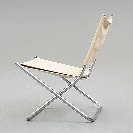 Hans J Wegner A Folding Chair Prototype For Johannes Hansen Denmark 1960 S Bukowskis Leather Kitchen Chairs Folding Chair Comfy Chairs