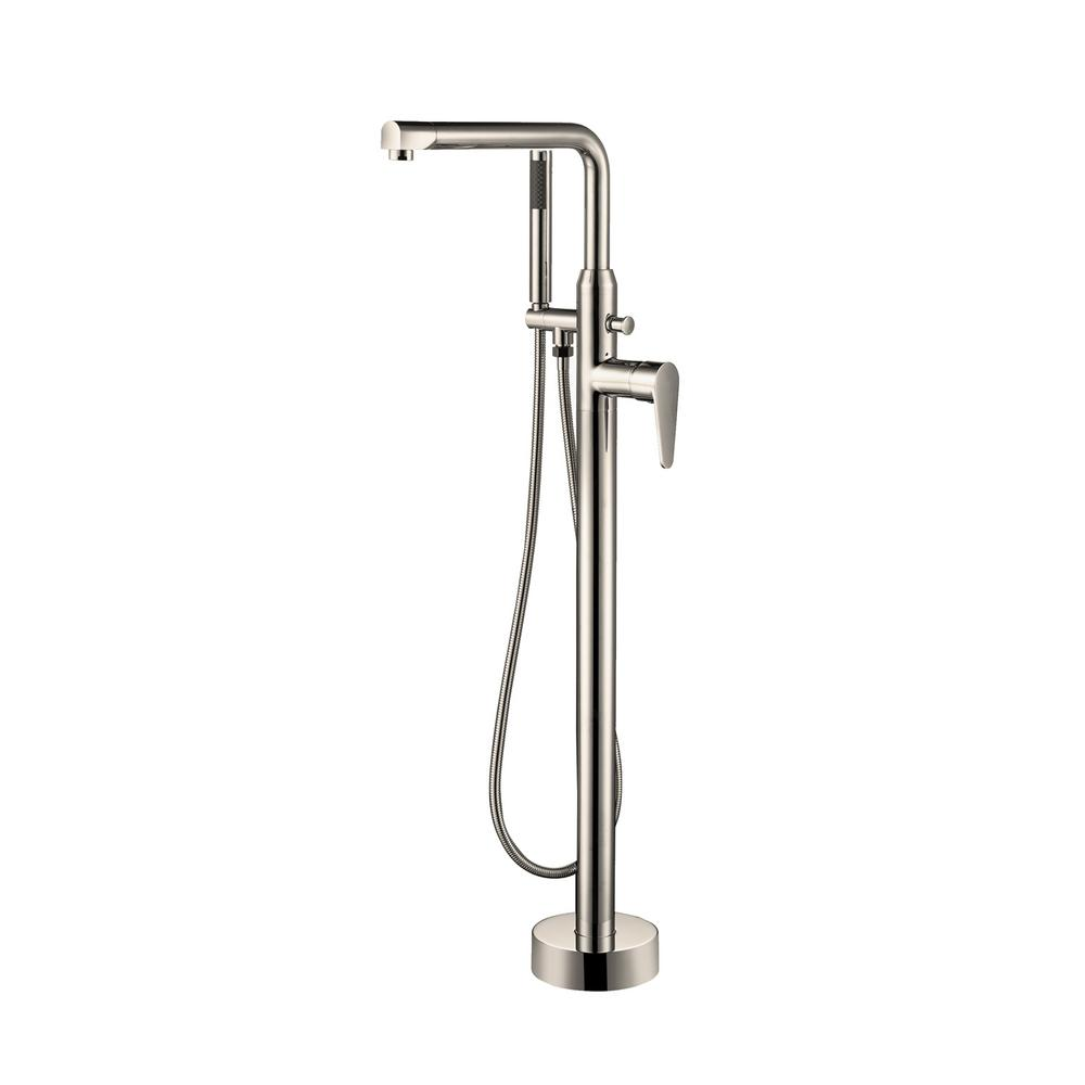 Barclay Products Jansen Single Handle Freestanding Tub Faucet With