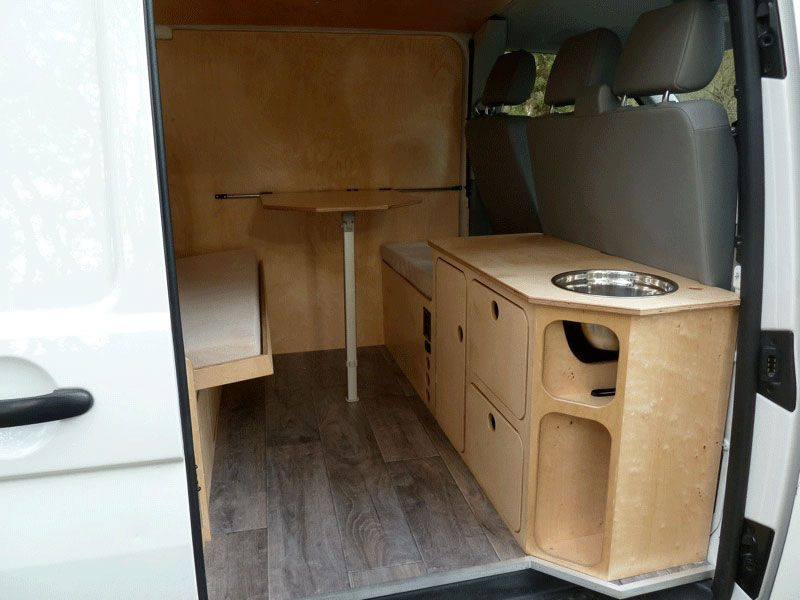 vw t5 mick el camping car pinterest fourgon am nagement et fourgon am nag. Black Bedroom Furniture Sets. Home Design Ideas