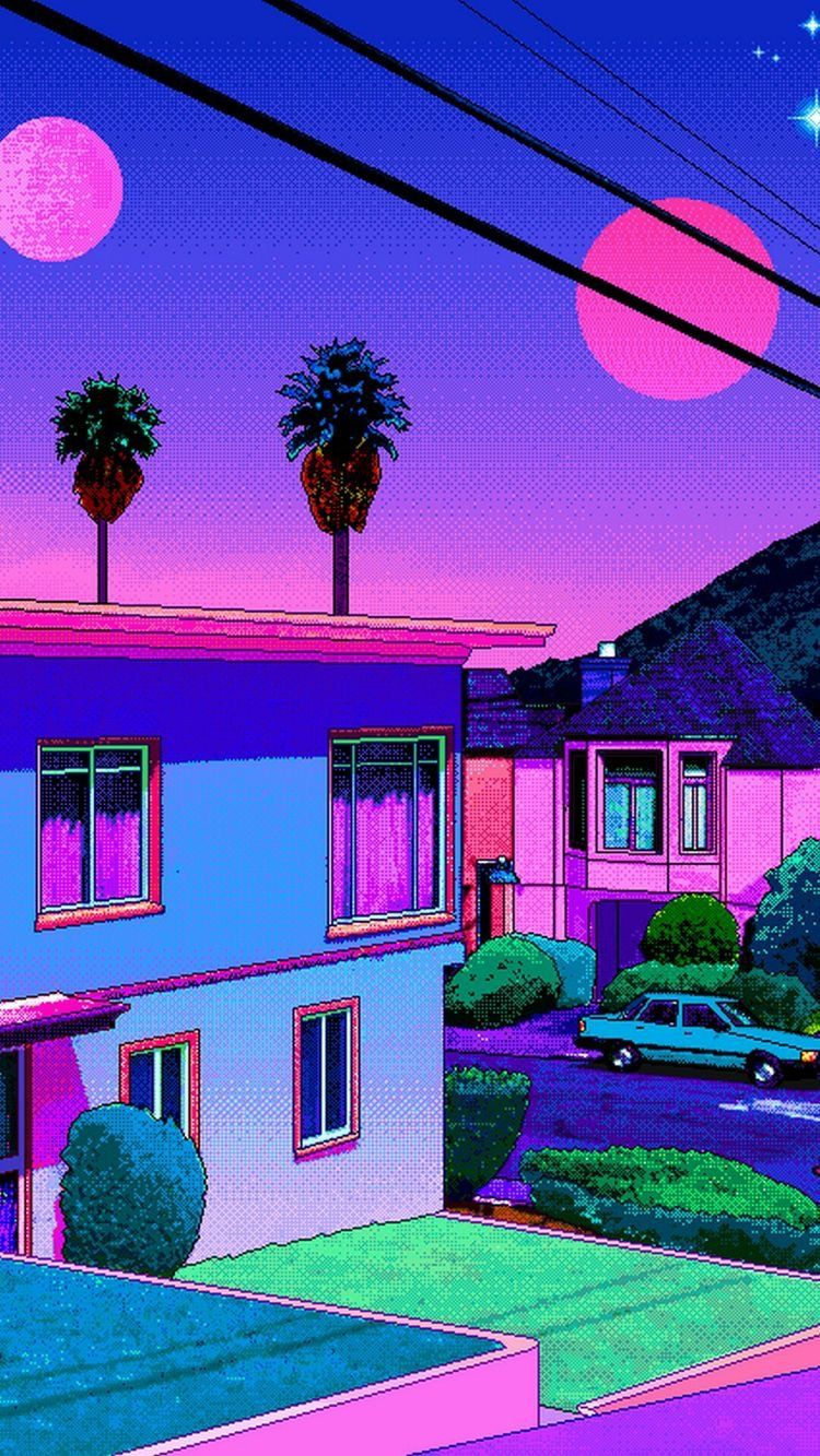 Pin By Shantal Blanco On Synthwave Vaporwave Wallpaper Art Collage Wall Aesthetic Wallpapers