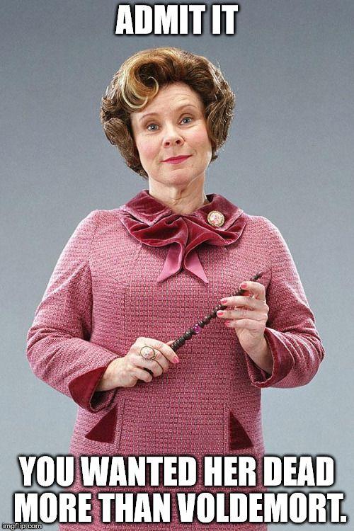 Dolores Umbridge Harry Potter Villains Dolores Umbridge Harry Potter Cosplay