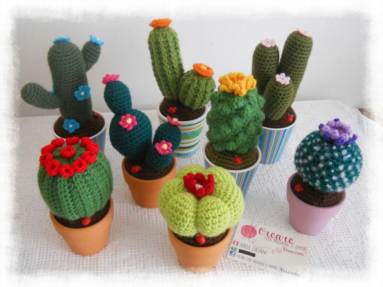Amigurumi Cactus : Large crochet amigurumi barrel cactus aftcra