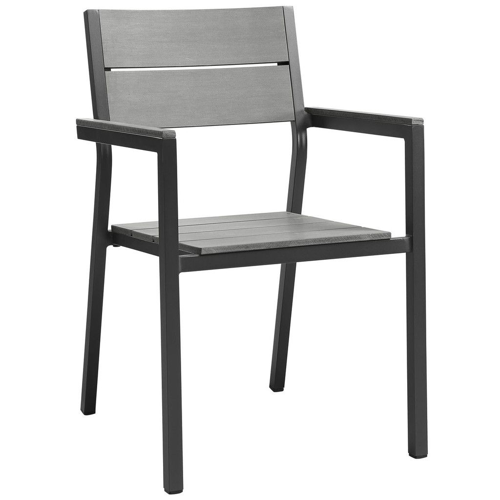 Modway Furniture Maine Dining Outdoor Patio Armchair EEI 1506