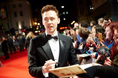 Tom Hiddleston. Via Torrilla.tumblr.com #EEBAFTAs