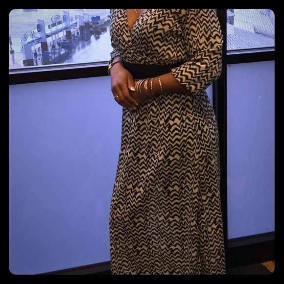 Classy Long Dress Black and Beige elegant long dress. Perfect for night on the town. Dresses Maxi