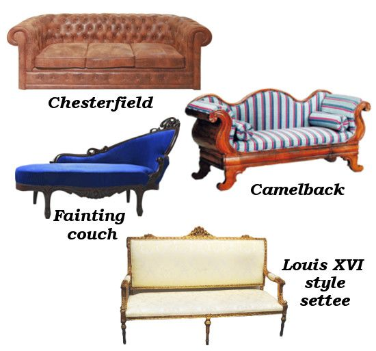 Couch - A Helpful Guide For Buying A Vintage Sofa Louis Xvi, Vintage