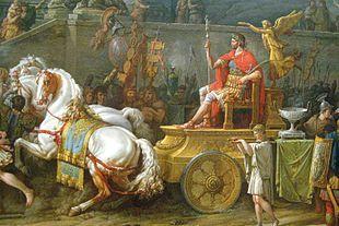 Triumph of Lucio Emilio Paulo. Carle Vernet