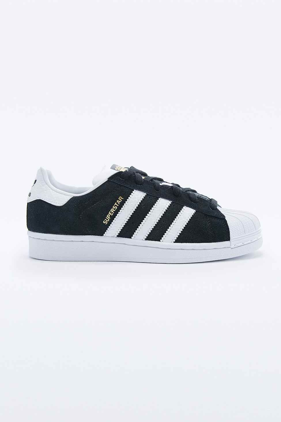 302027ac868 adidas Originals Superstar Trainers in Black and White