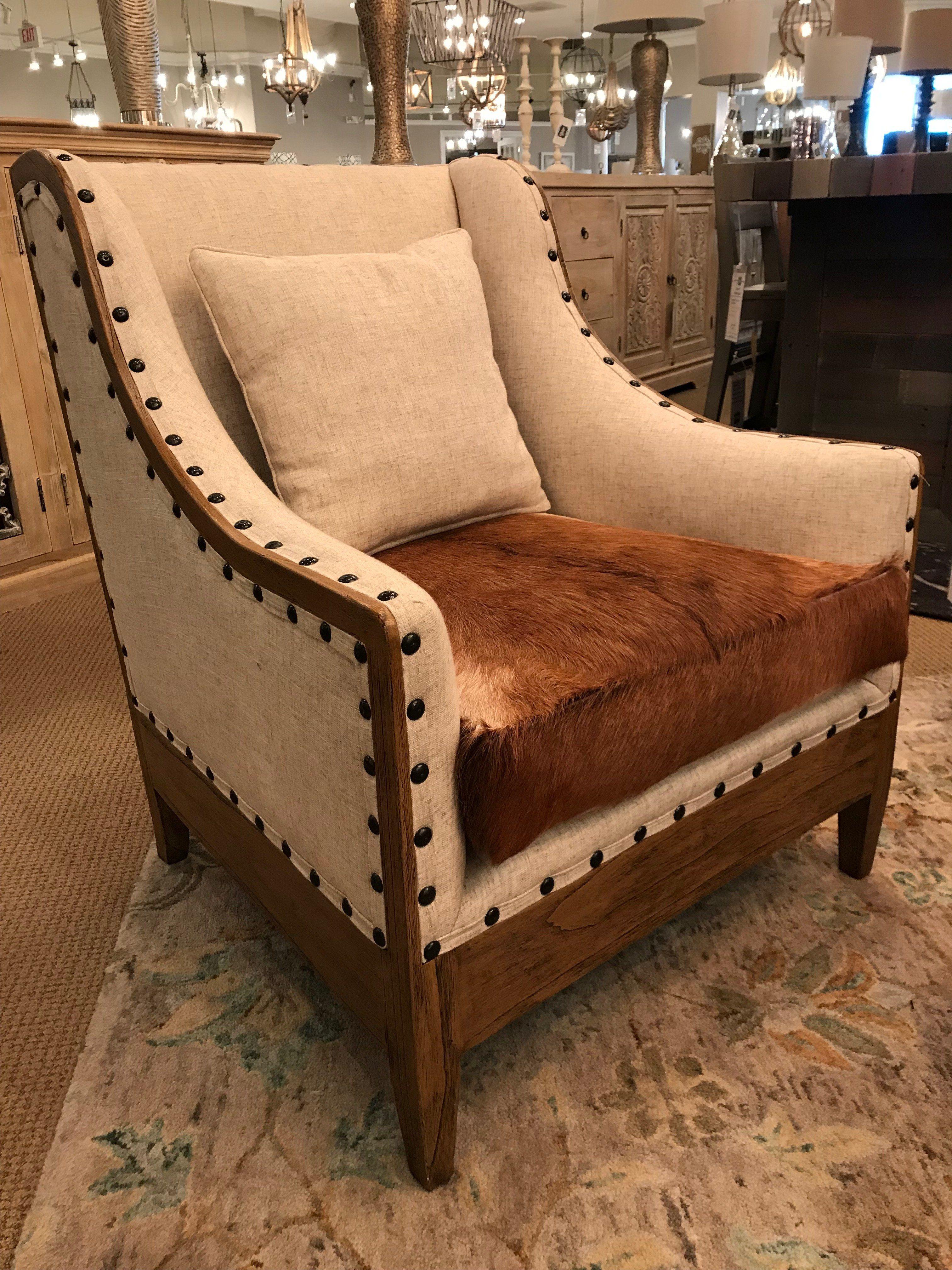 Abilene Cowhide Chair Western furniture, Cowhide chair