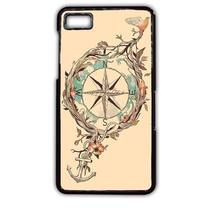 Compass Vintage TATUM-2813 Blackberry Phonecase Cover For Blackberry Q10, Blackberry Z10