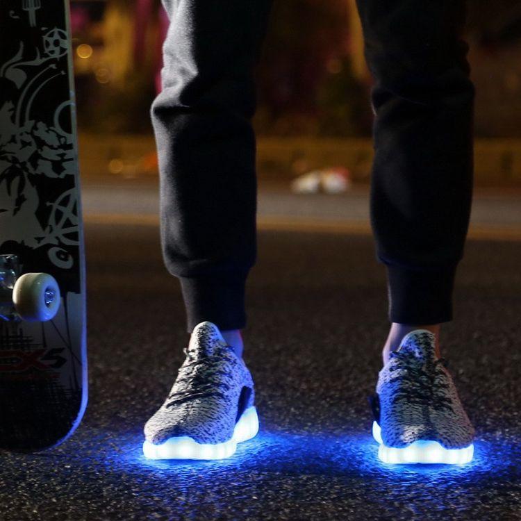 leuchtende #Yeezy Laufschuhe von #Adidas | Turnschuhe trends