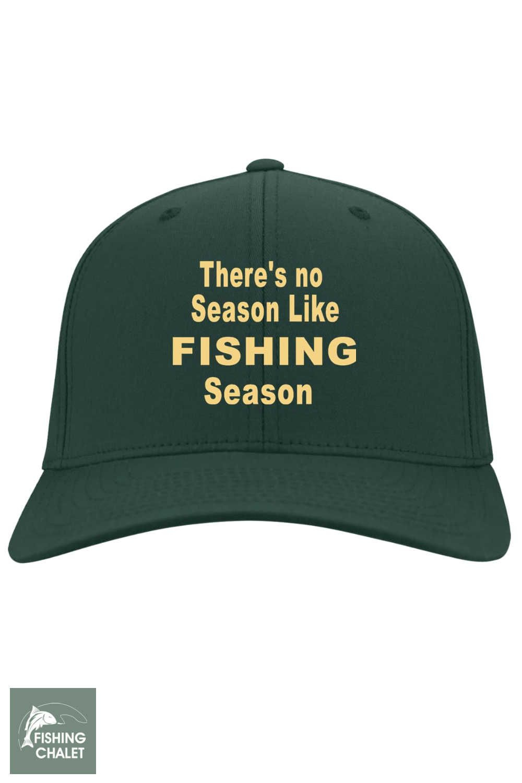 No Season Like Fishing Season Twill Cap b  22bff87df1c