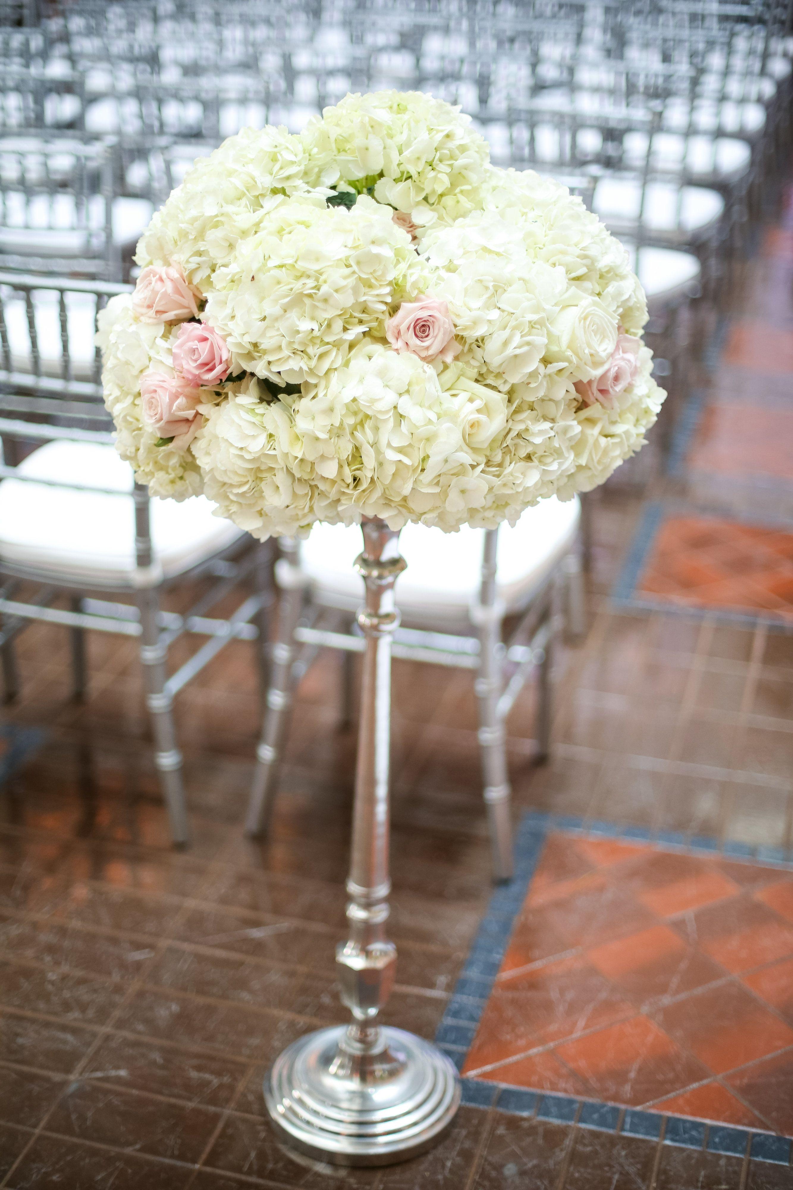 Blush and White Landmark Center Wedding