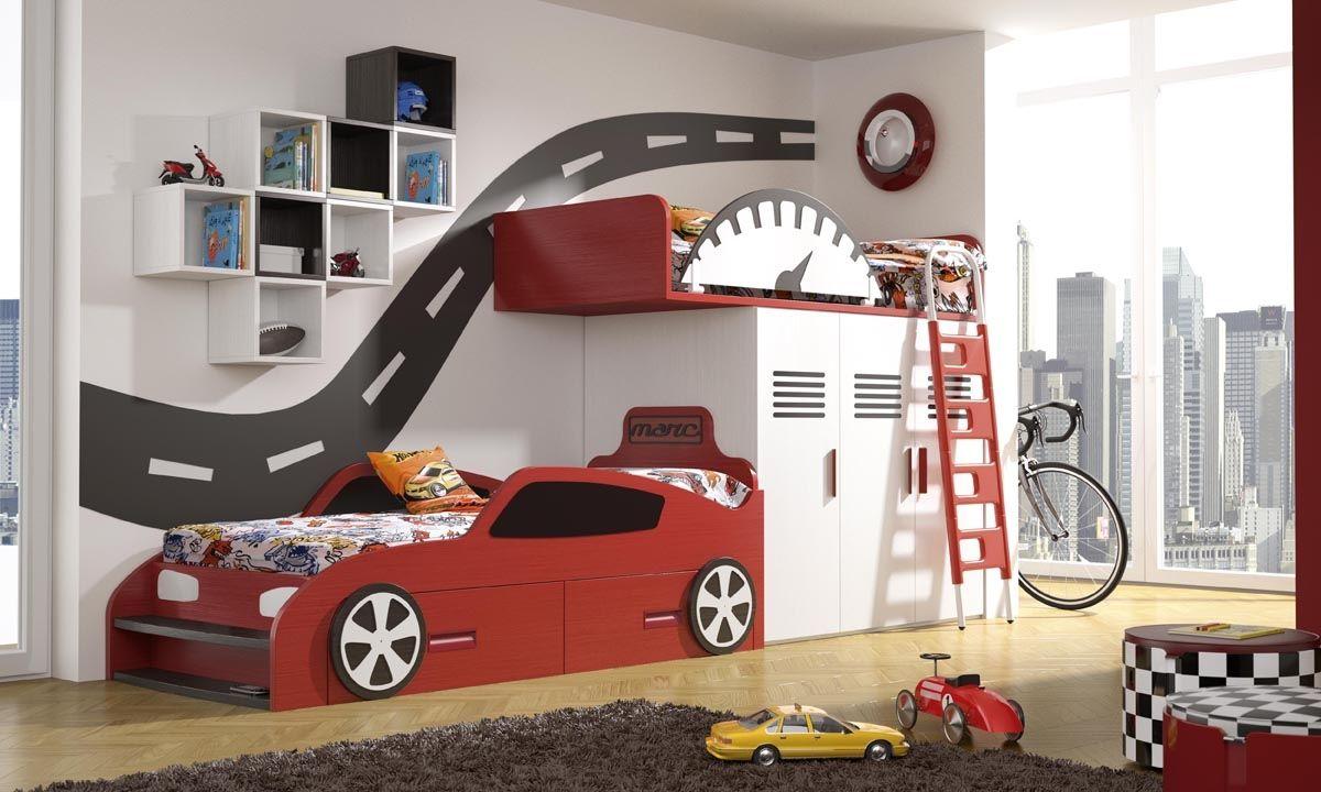 Tegarmobel Thematic Dormitorio Formado Por Una Cama Nido Con  # Muebles Tegarmobel