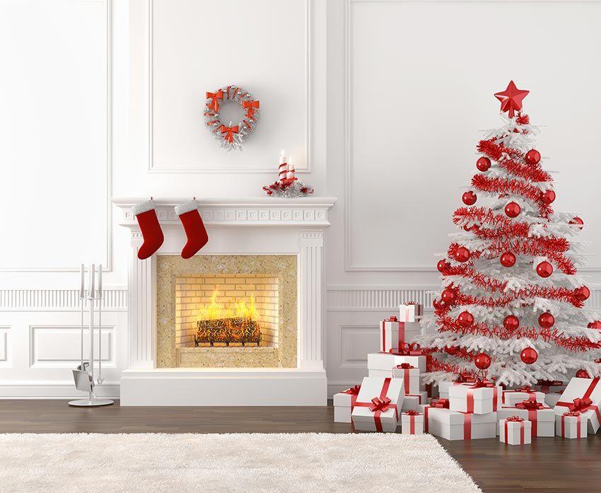 Un albero di Natale Shabby chic per illuminare le feste ...