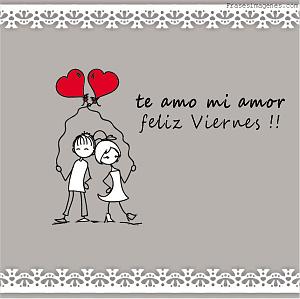 Te amo mi amor...
