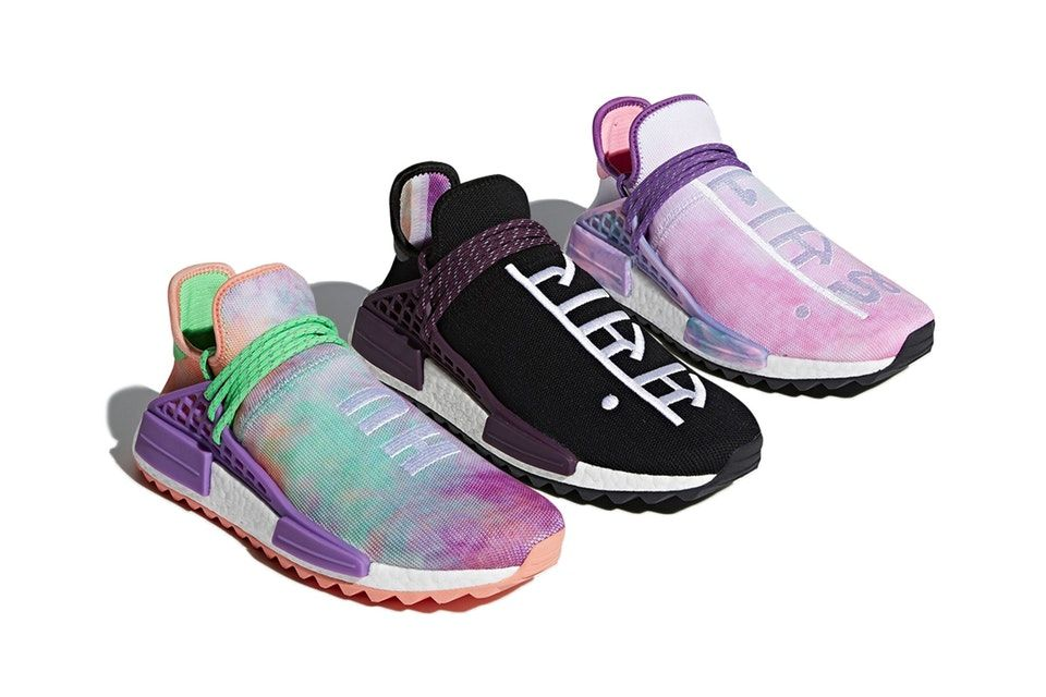 sports shoes 2f19a cdbfc The Pharrell x adidas NMD Hu Trail