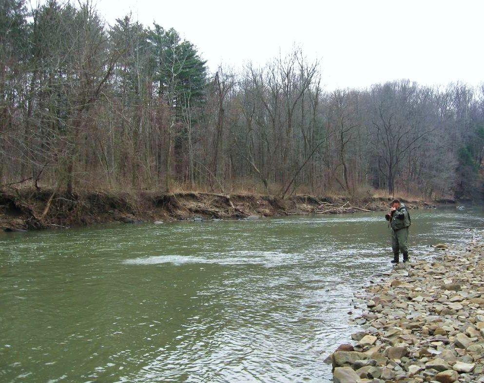 Steelheading Brother Chagrin River River Ashtabula Fishing Adventure