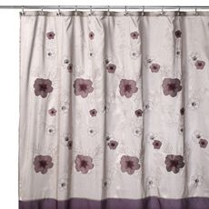 Favorite B Smith Purple Bloom 72 X 72 Shower Curtain Bed