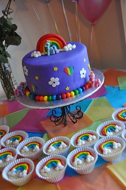 decoracin de fiestas infantiles de my little pony