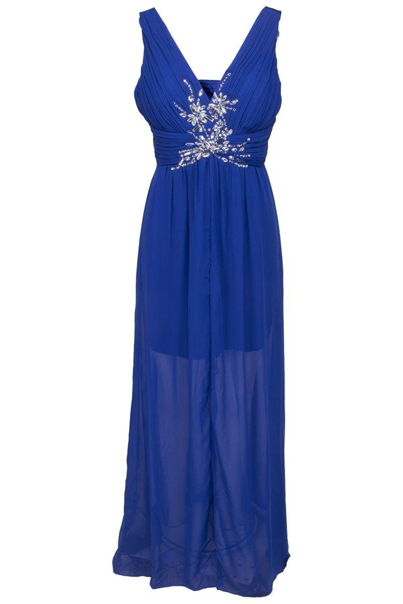 aee4ee3a736a Sousourada blå kjole