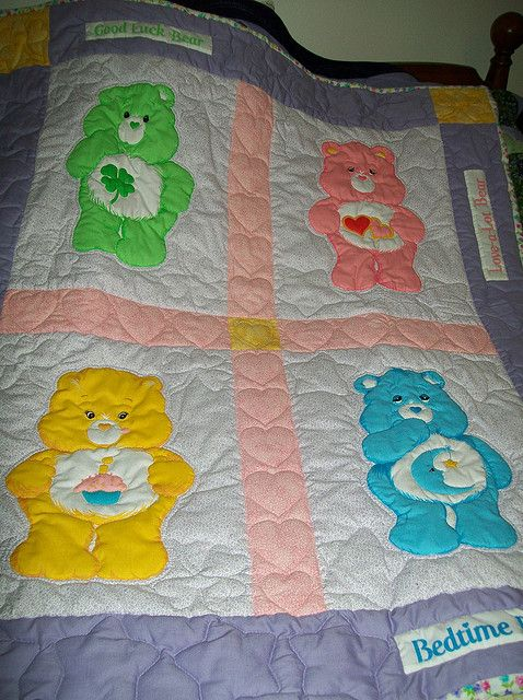 Vintage Care Bear fabric | Care bears, Bears and Vintage : quilt care - Adamdwight.com