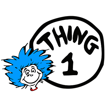 Thing 1 And Thing 2 Shirs Kids Shirts Thing 1 Seuss