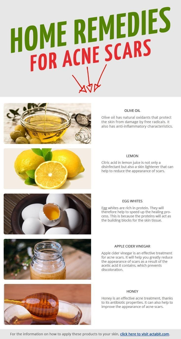 home remedies for red skin from acne