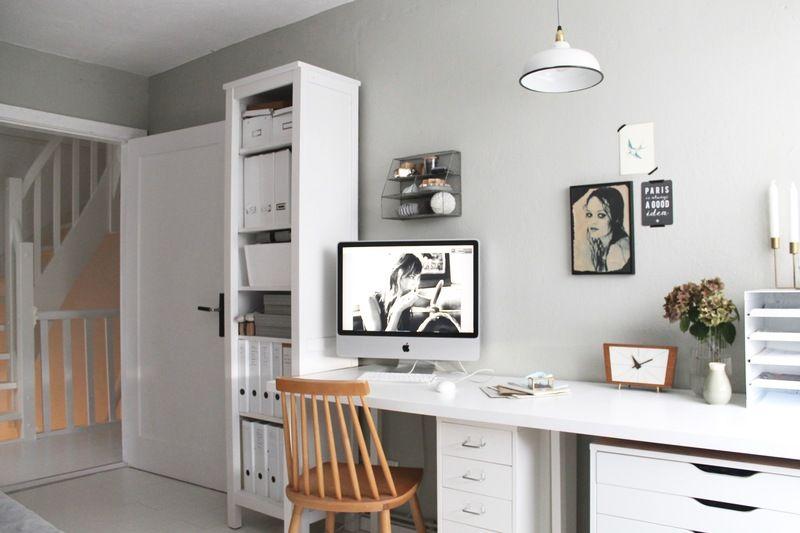 Wandfarbe Arbeitszimmer ~ Arbeitszimmer in grün grau. wandfarbe? www.kolorat.de #kolorat
