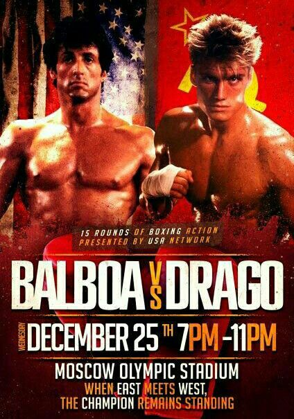 Balboa Vs Drago Rocky Balboa Rocky Film Balboa