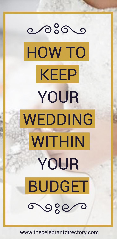 Planning a wedding isn't a piece of cake (wedding cake