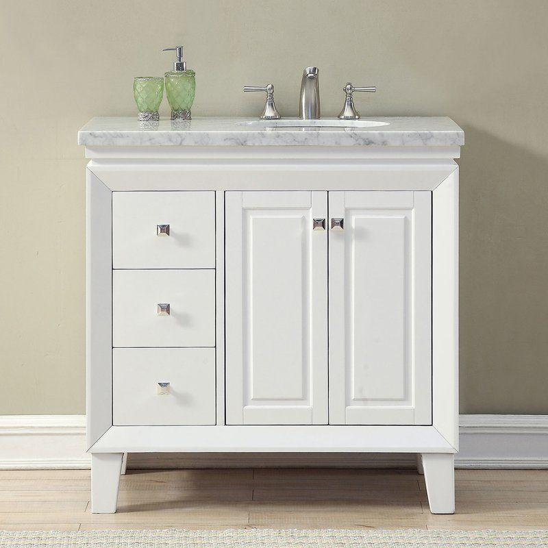 Philip 36 Single Bathroom Vanity Set Bathroom Vanity Single Sink Bathroom Vanity White Vanity Bathroom