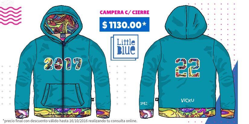 calcio Clan cada vez  Mi diseño Little Blue | Buzos de egresados, Camperas de egresados, Sudadera  estampada